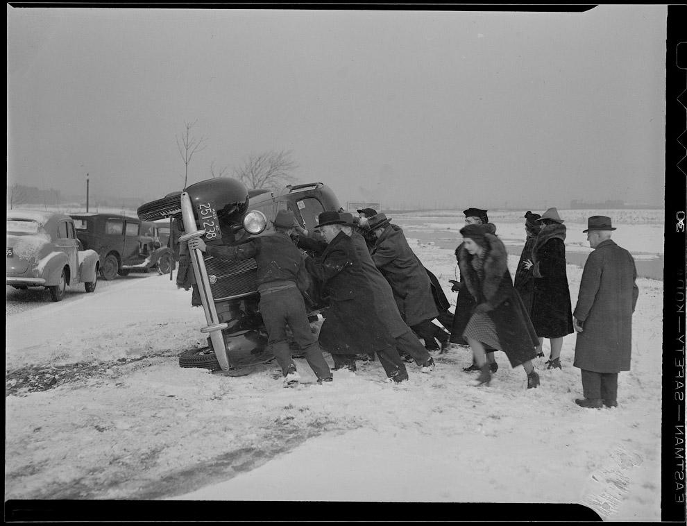 Навались! Авария на дороге в промежутке между 1934 – 1956