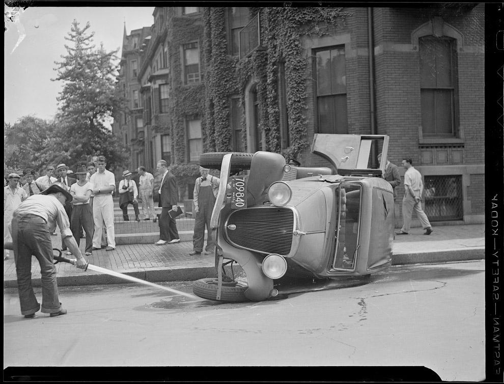 Авария в промежутке между 1934 – 1956