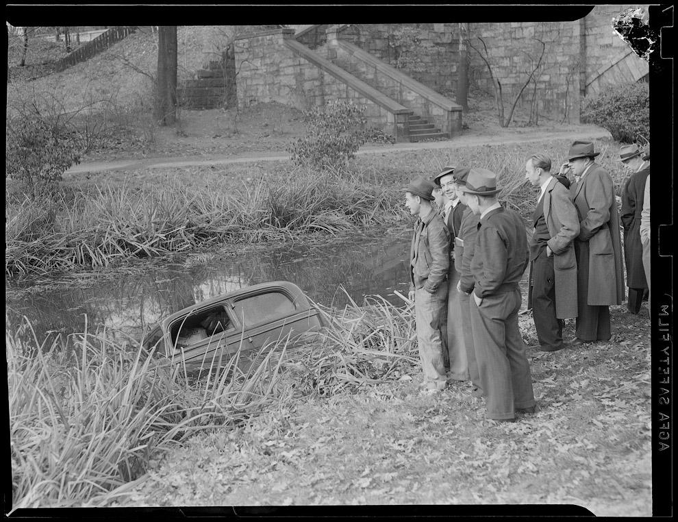 Свалился в канаву, 1938 год