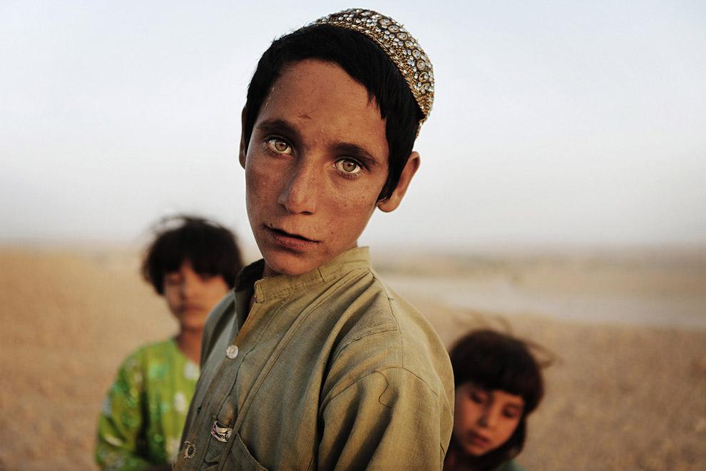 Афганские дети в южной провинции Гильменд, Афганистан