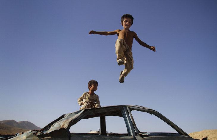 Афганистан: дети войны
