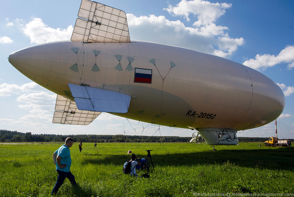 Первый в России дирижабледром