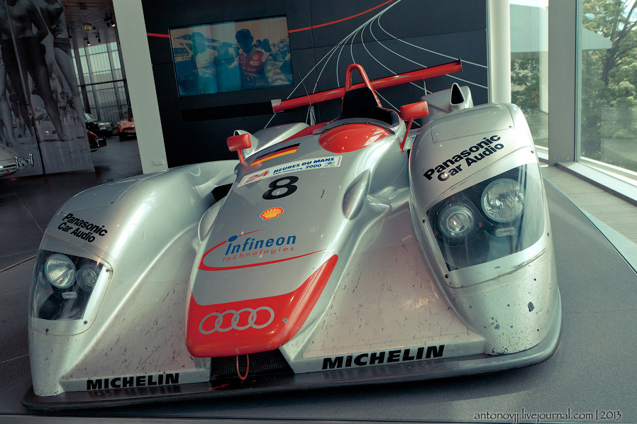 Audi R8 Joest Racing
