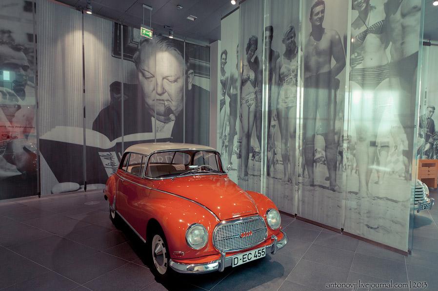 Поначалу все модели возрожденного концерна выпускались под маркой DKW, но к середине 50-х годов наиболее дорогие модификации автомобилей стали называться Auto Union