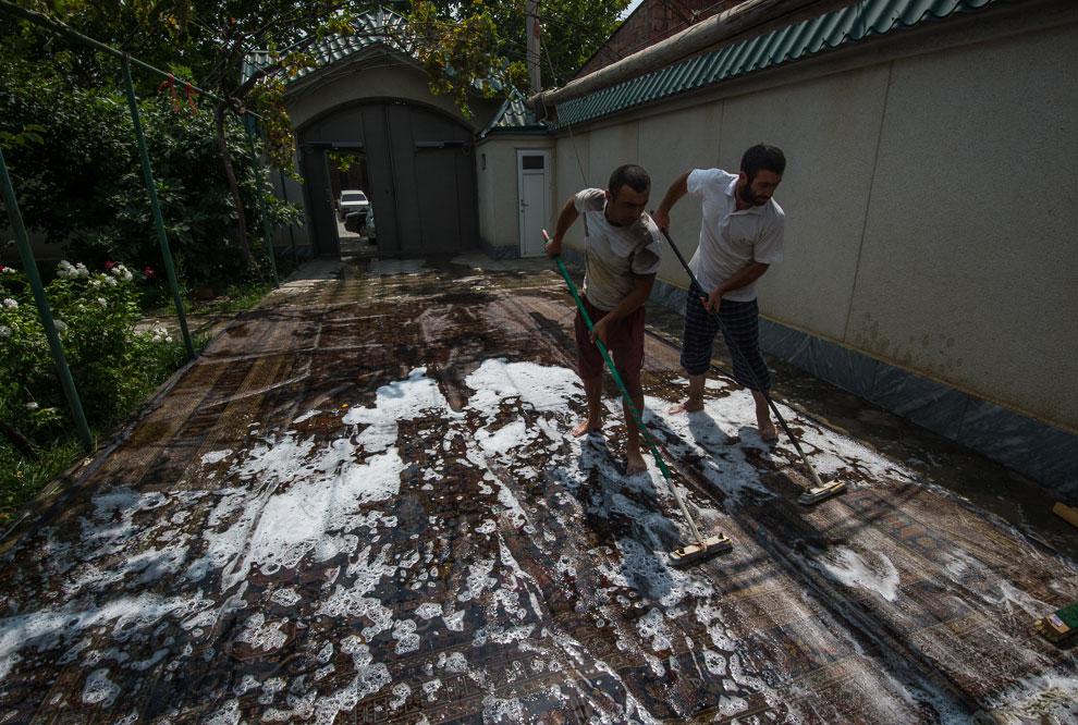 Ручное производство ковров