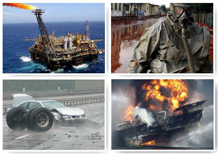 Principais desastres causados pelo homem do século XXI