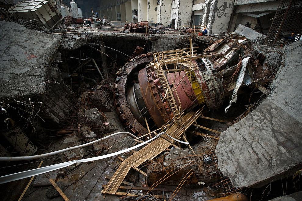 17 de agosto de 2009 houve um desastre provocado pelo homem na estação de energia hidrelétrica Sayano-Shushenskaya, localizada no rio Yenisei