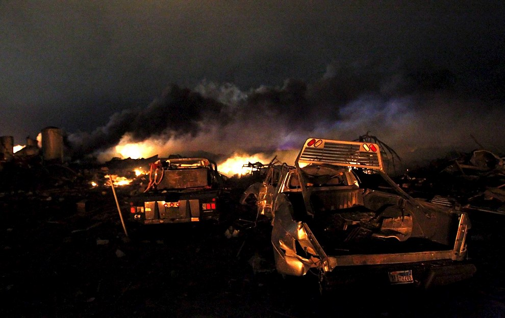 18 апреля 2013 в американском городе Вест в штате Техас на заводе удобрений произошел мощный взрыв