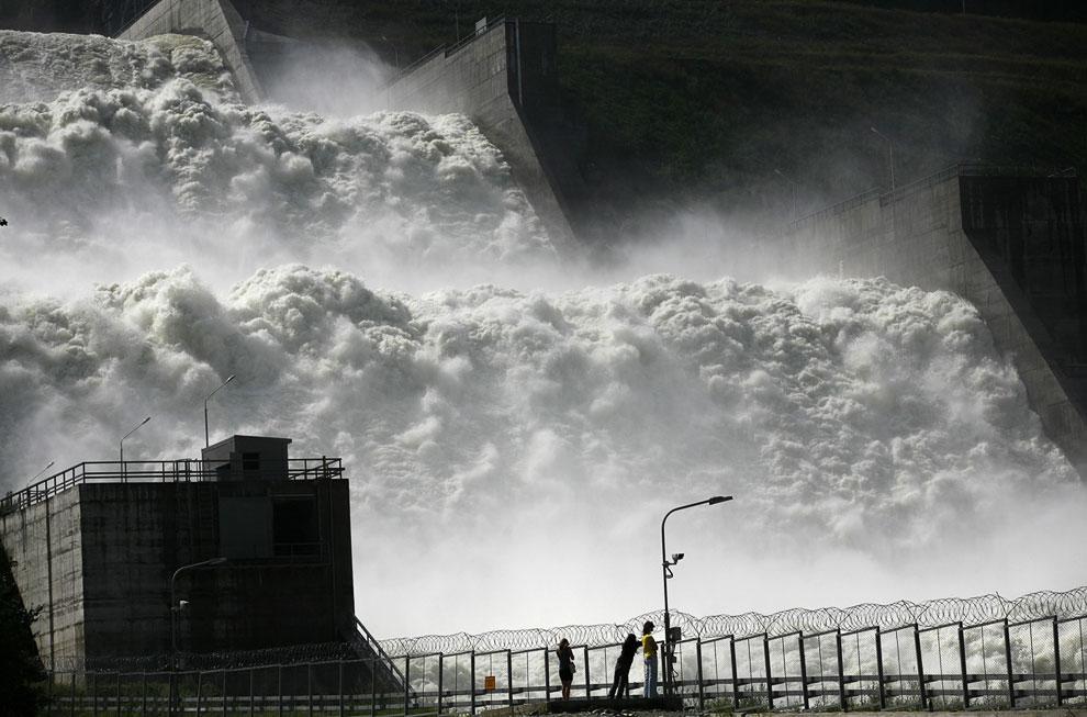 Мощь Енисея. Водосброс на Саяно-Шушенской ГЭС