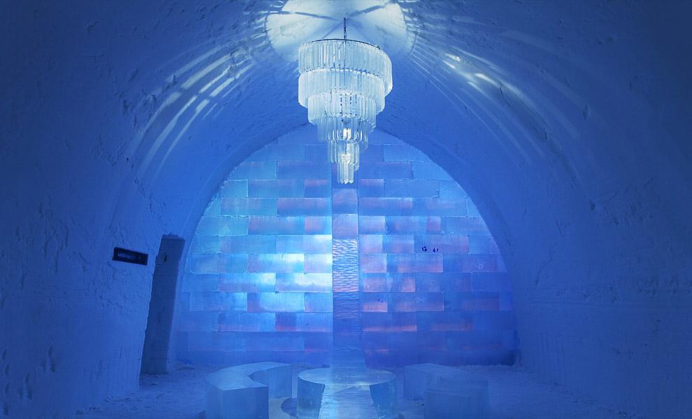 Icehotel — Юккасъярви, Швеция