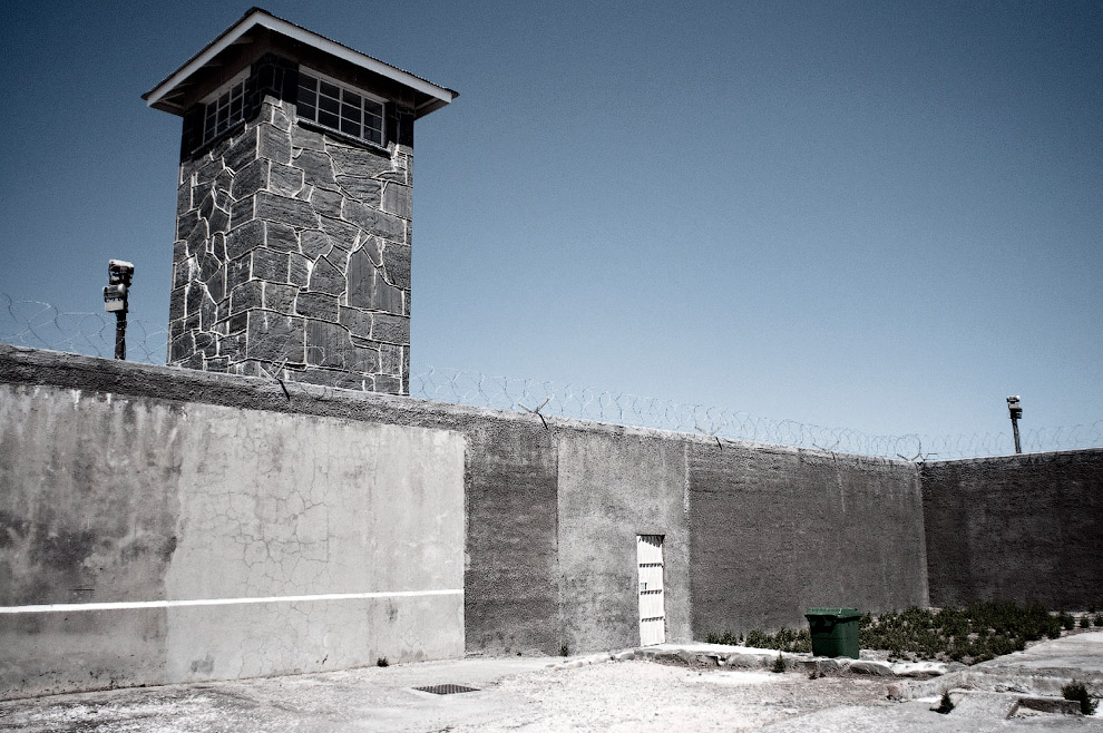 The prison on Robben Island, South Africa
