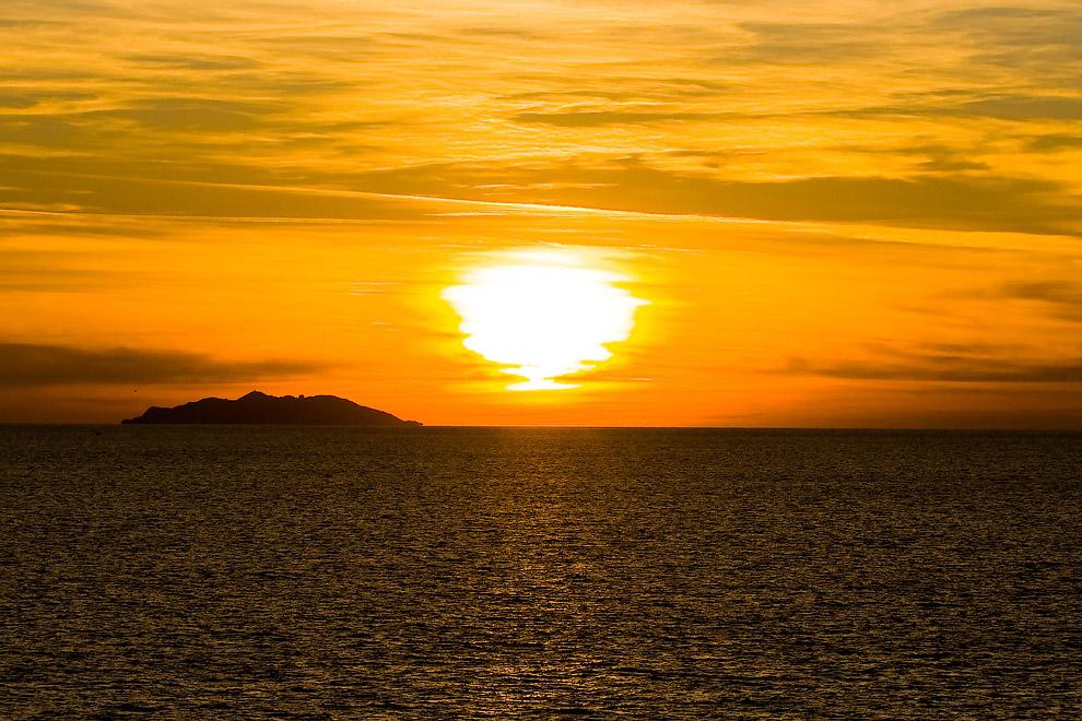 Острів Горгона, Італія