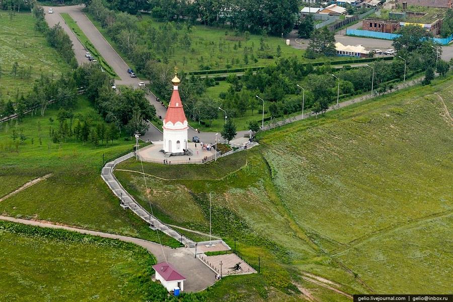 Часовня Параскевы Пятницы — символ Красноярска