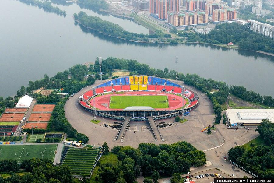 Центральный стадион Красноярска
