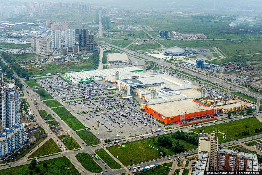 ТРЦ «Планета». Самый крупный в Красноярске торгово-развлекательный центр