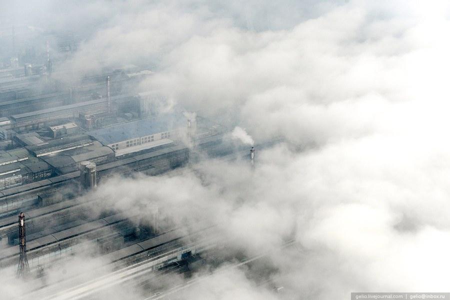 Красноярский алюминиевый завод (КрАЗ) - второй по величине алюминиевый завод в мире.