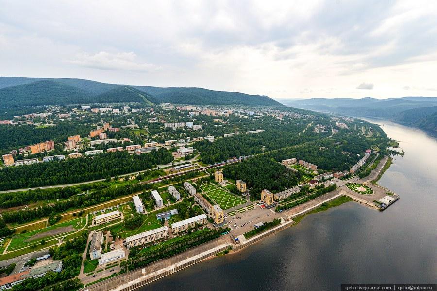 Дивногорск — город, расположеный в 20 км от Красноярска