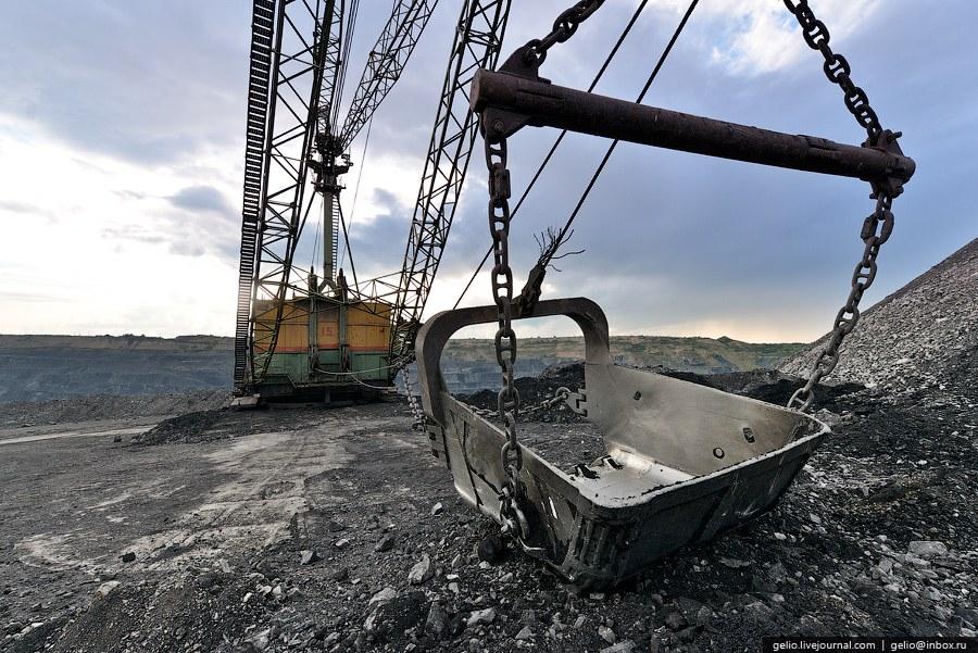 Угольные разрезы Кузбасса