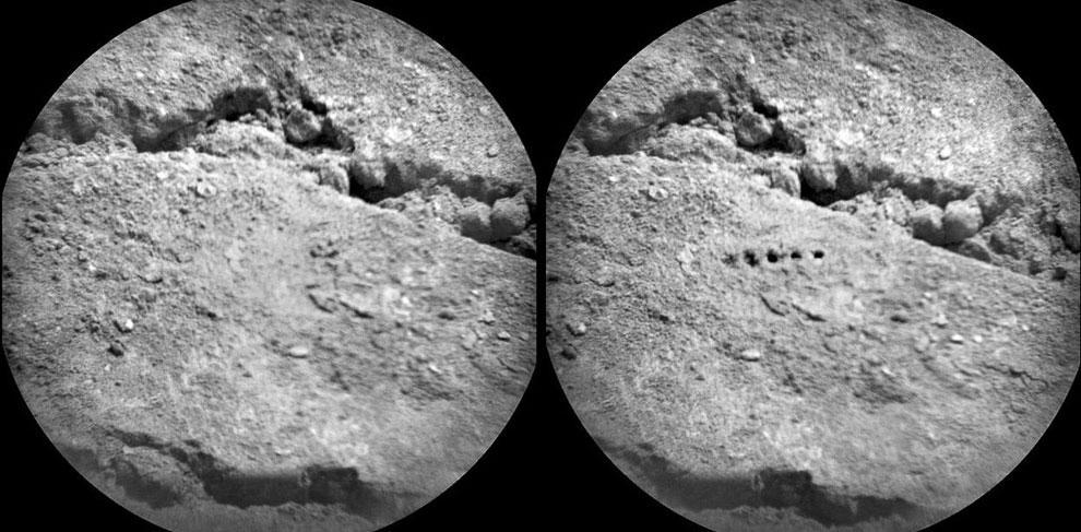 ChemCam — это набор инструментов марсохода, включая лазерный импульс, для дистанционного исследования окружающего пространства