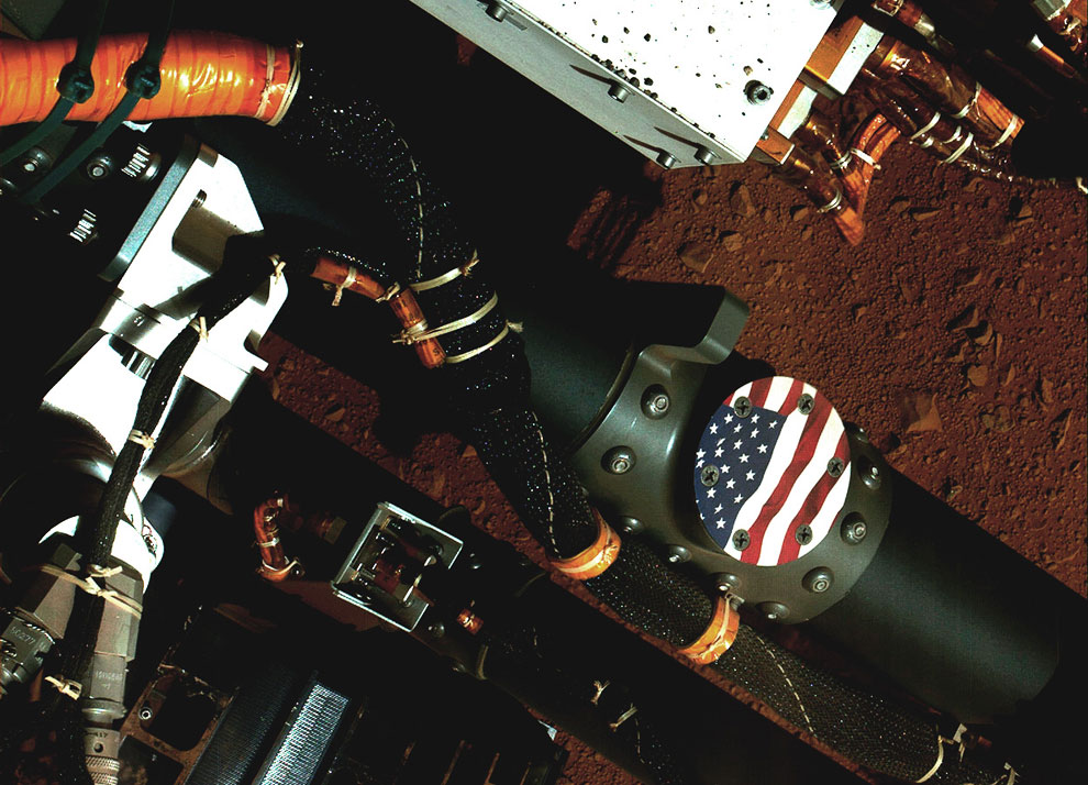 Еще один высококачественный автопортрет марсохода Curiosity