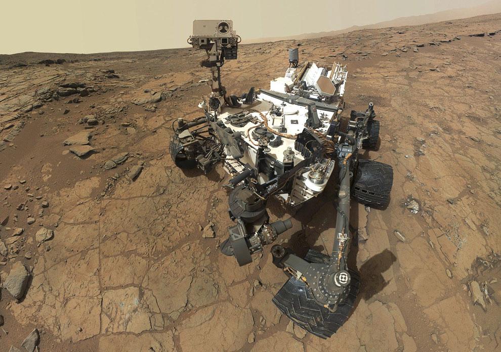 Марсоход Curiosity за время своей работы уже выслал на Землю более 190 гигабит данных и более 72 000 высококачественных изображений