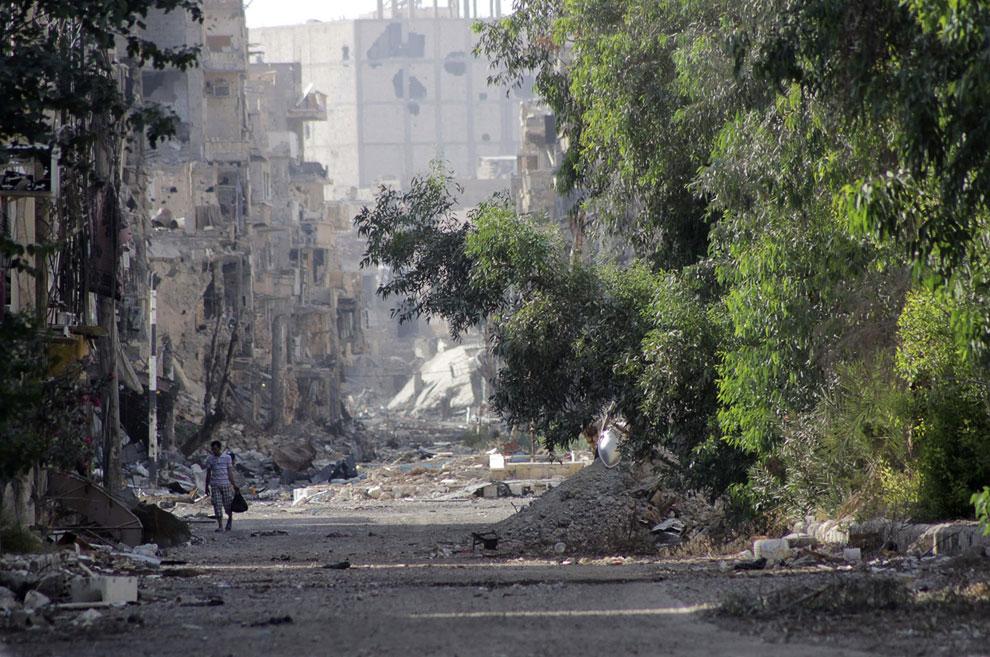 Дейр-эз-Зор — город на северо-востоке Сирии, на правом берегу реки Евфрат