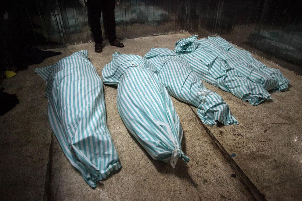 Погибшие. Город Ракка