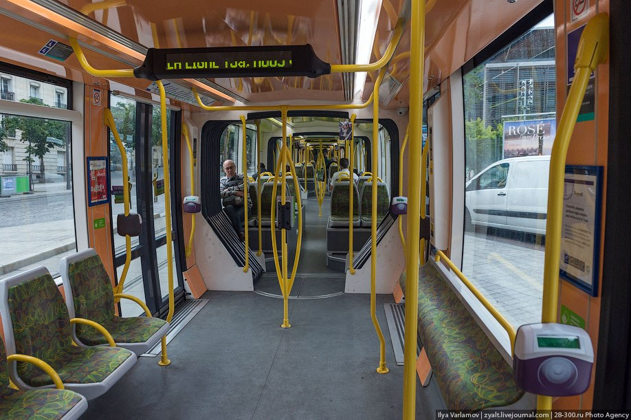 Парижский трамвай