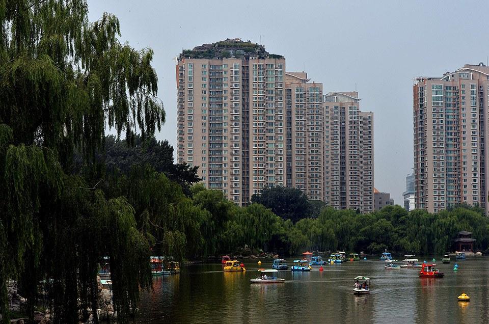 Незаконное строительство по-китайски: горная вилла на 26 этаже