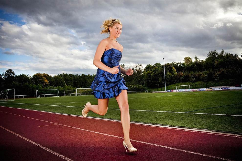 Самый быстрый бег на каблуках