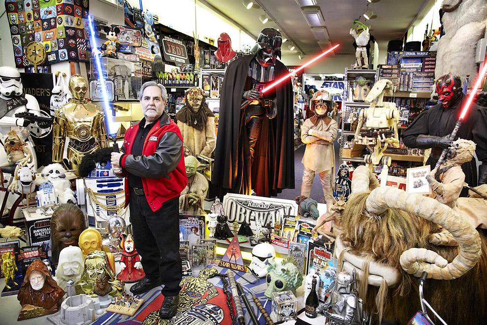 Крупнейшая коллекция из «Звездных войн»
