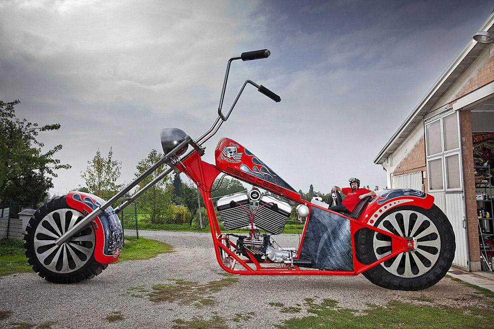 Самый большой в мире мотоцикл
