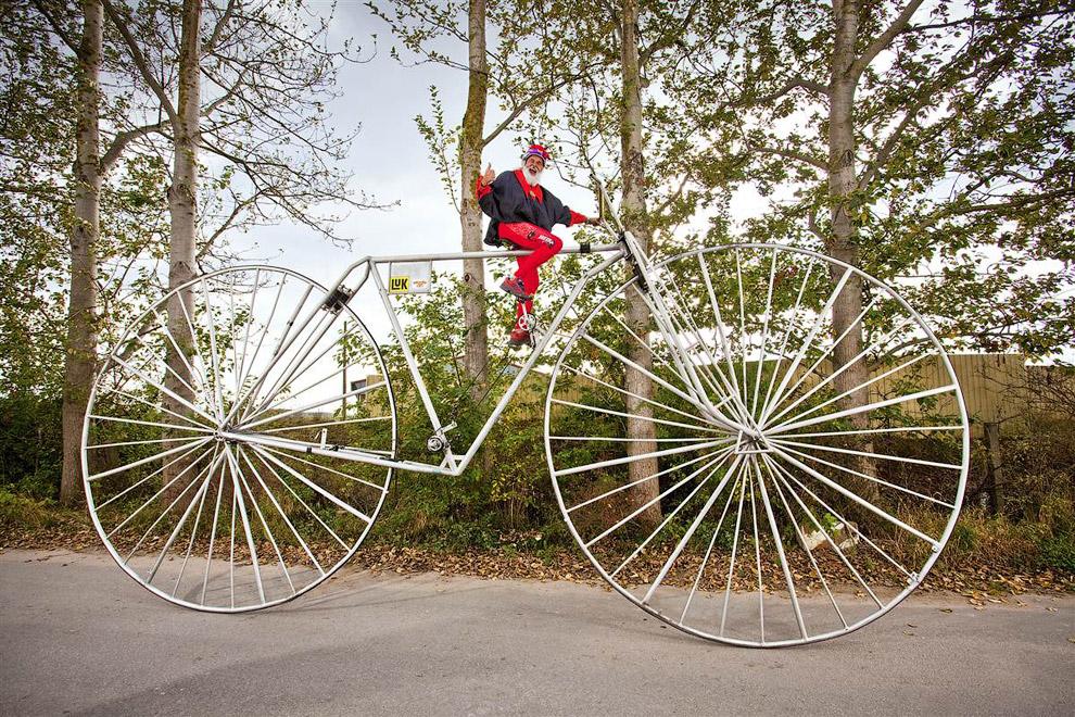 Самый большой велосипед
