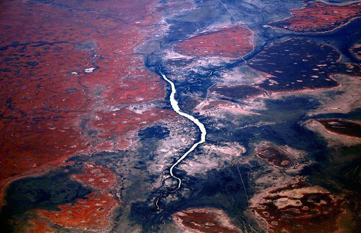Над Северной территорией Австралии