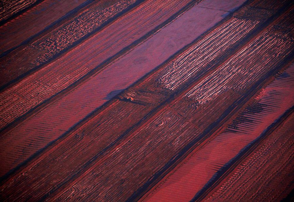 Глиноземный завод и бокситовый рудник на полуострове Гоув в местечке Нуланбей, Северная территория, Австралия