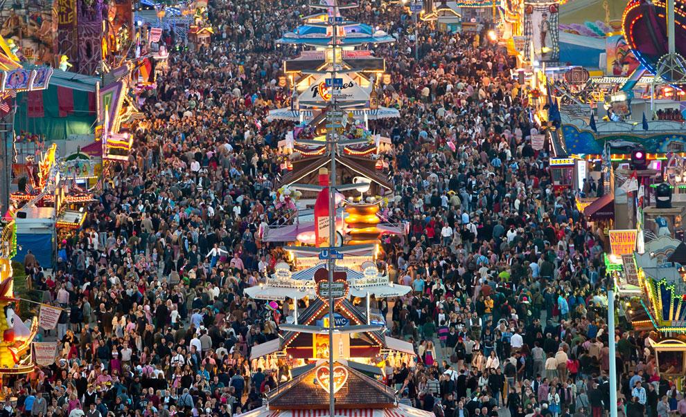 За 16 дней фестиваль посетят около 6 млн. человек