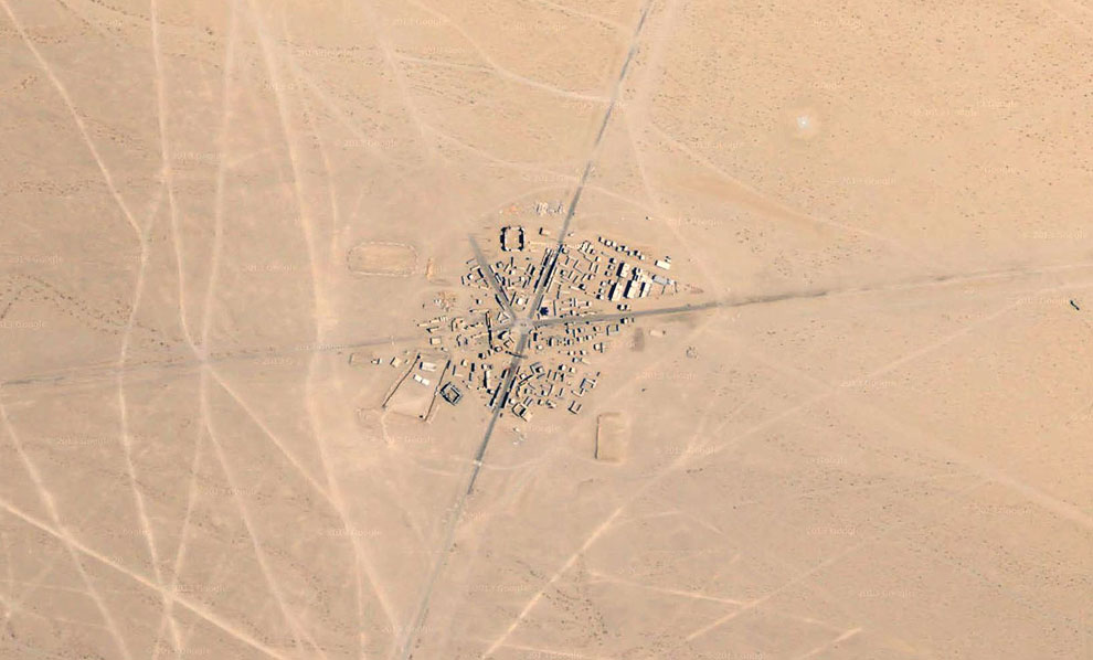 Вид на «американский» Афганистан со спутника