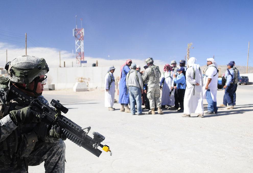 Это была небольшая экскурсия по копиям Афганистана и Ирака, находящихся в американской пустыне Мохаве
