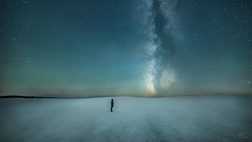 Человек и Млечный Путь