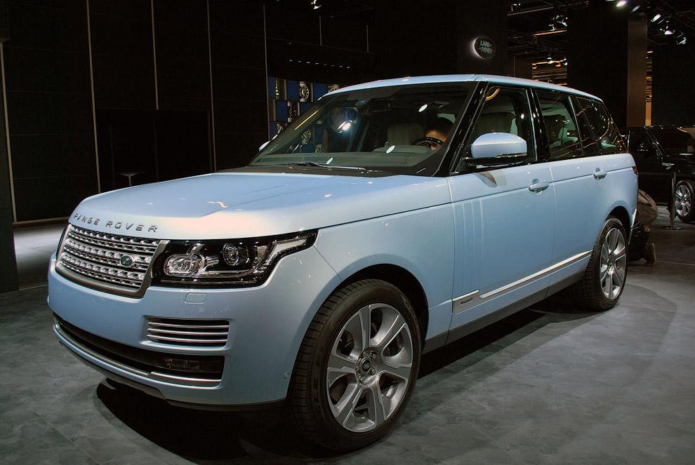 Гибридный Range Rover