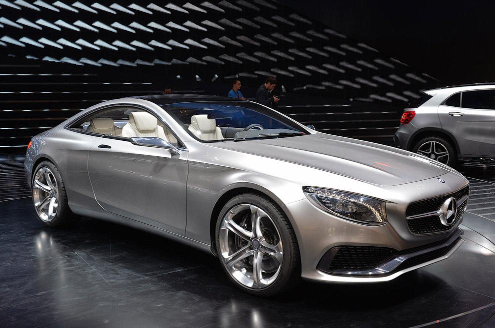 Купе Mercedes-Benz S-Class
