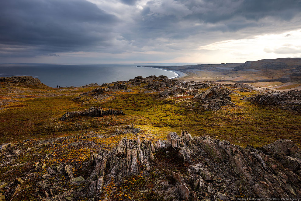 Золотая осень на Кольском полуострове. Часть 2