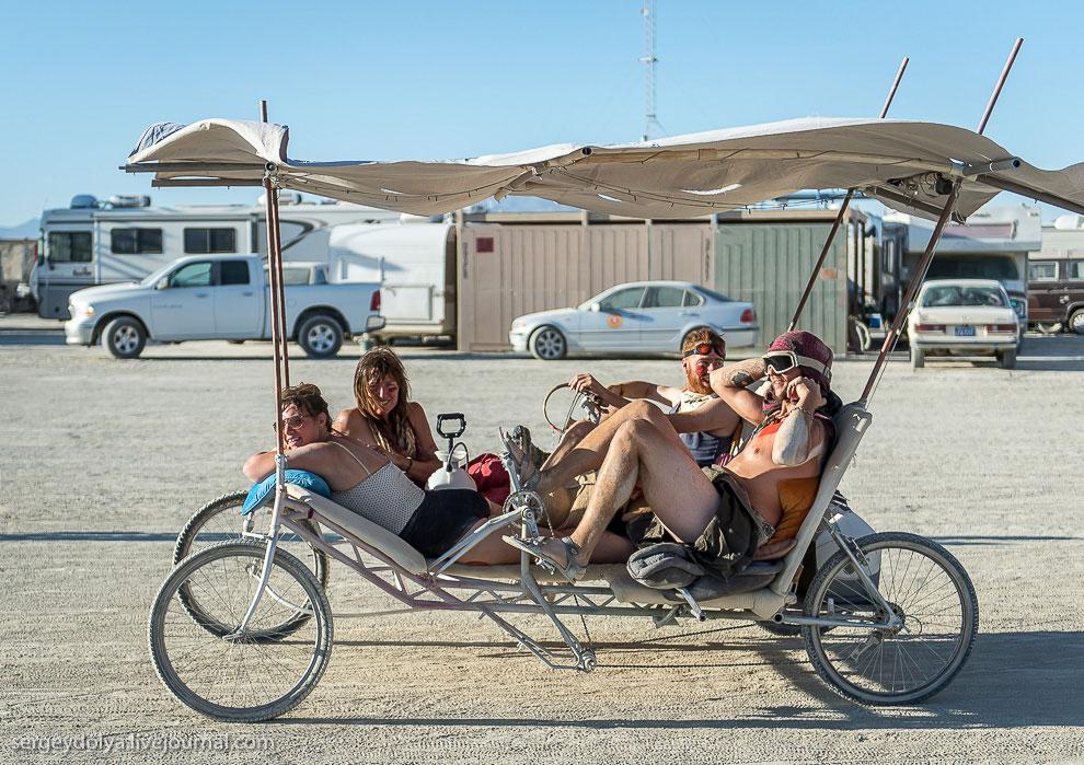 Классная штука — вело-катамаран