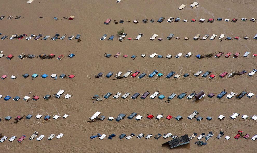 Парковка автомобилей в штате Колорадо