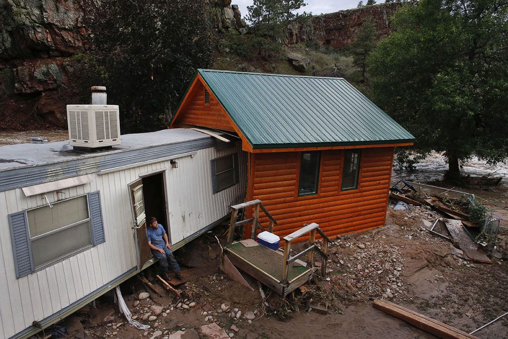 Хлипкие американские домики разрушаются быстрее всего