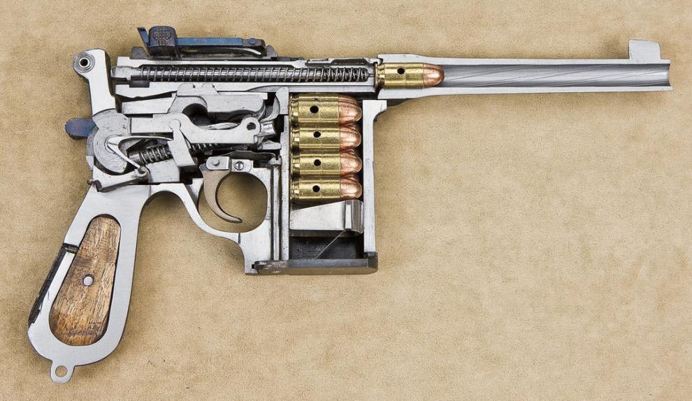 Пистолет китайский Shanxi Type 17