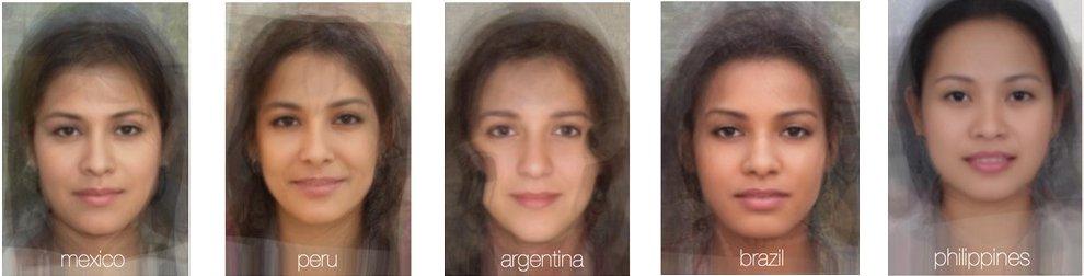 Мексика, Перу. Аргентина, Бразилия и Филиппины