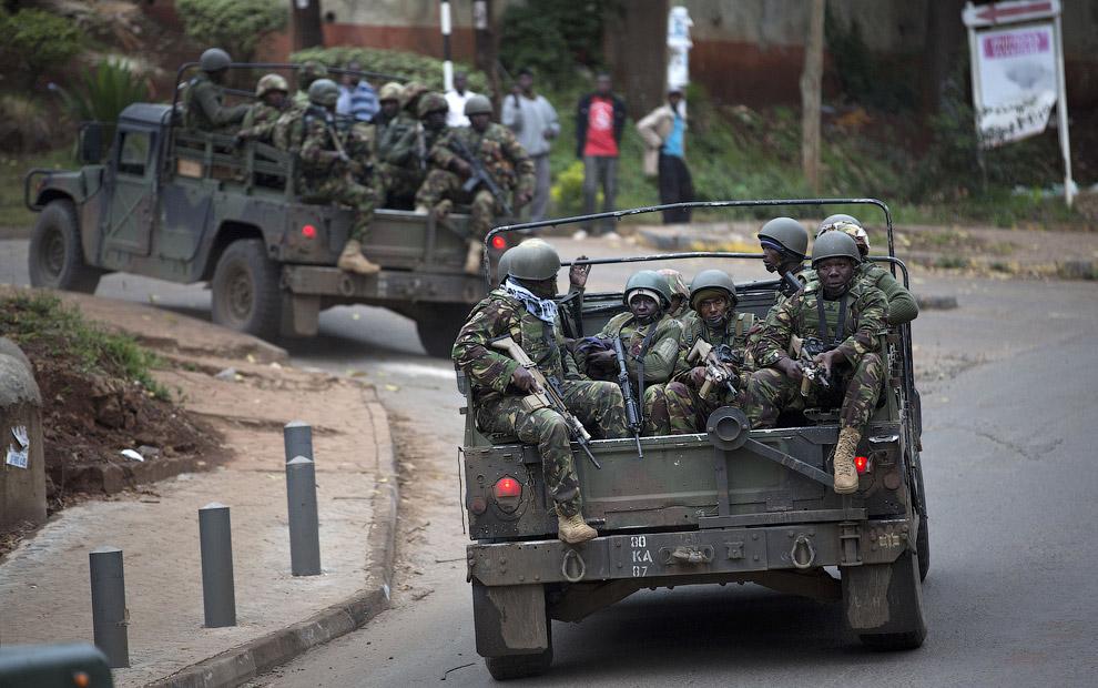 Военные Кении