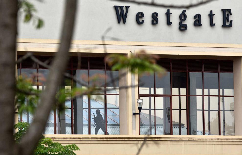 Полицейский в торговом центре Westgate