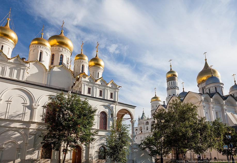 Московский Кремль с высоты